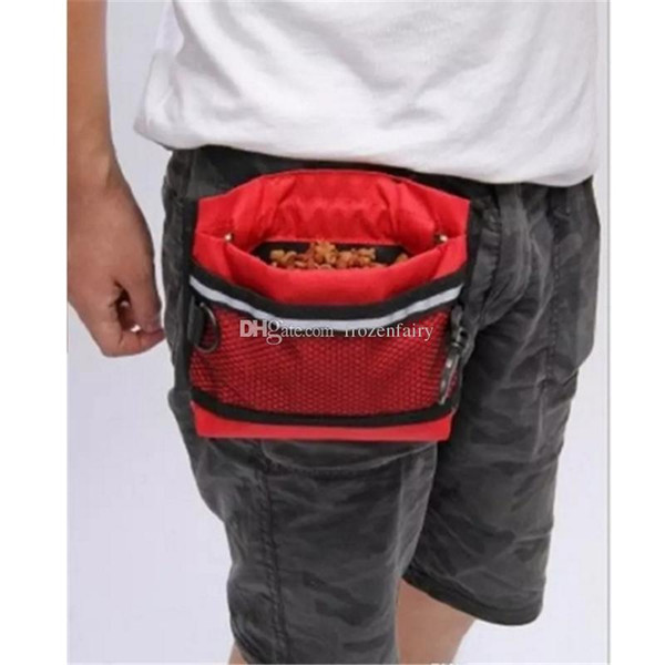 30pcs Durable Pet Dog Treat Bait Waist Pouch Puppy Reward Based Training Bag with Buckle Belt Pet Supplies aa940-947 2017122307