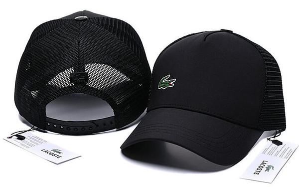 2019 new high quality mesh baseball cap Men Women fashion designer Bear embroidery luxury hat European American style golf sport visor hat