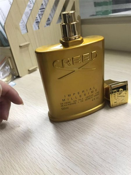 Preferential goods Hot sale Golden Edition Creed Millesime Imperial Fragrance high quality Perfume For Men 120ML Perfect Scent Free Shipping
