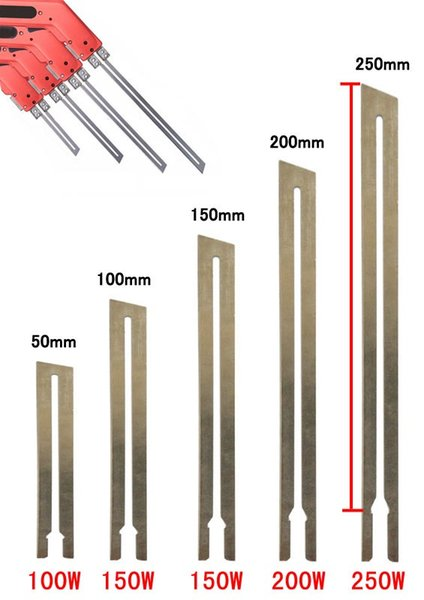 straight Blade knife for electric heating cutting knife cutter machine gun cutting foam plastic material