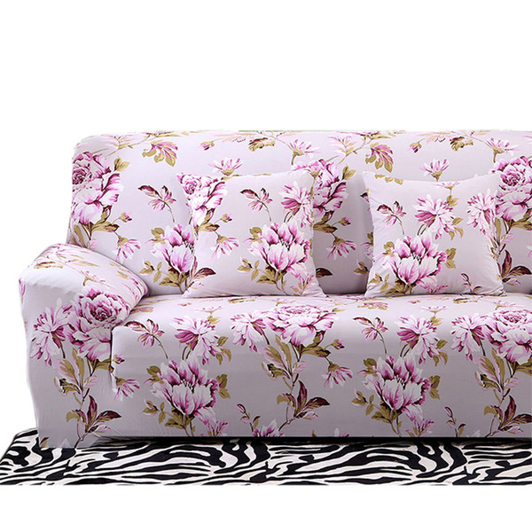 Tremendous Floral Printing Stretch Sofa Cover Elastic Couch Cover Loveseat Chair L Shaped Sofa Case For Living Room Home Decor 20 Styles Chair Cover And Sash Short Links Chair Design For Home Short Linksinfo