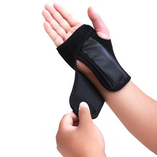 1pc utile Stecca distorsioni Artrite Cintura a nastro Tunnel carpale Supporto polso mano Brace # J4