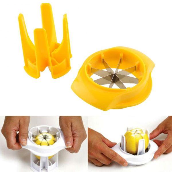 Lemon Lime Orange Slicer Wedger Cutter Squeezer Fruit Garnish Peelers Splitter Kitchen Tool Creative Orange Easy Opener MMA1240