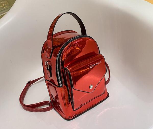 Frauen Luxus Designer Handtasche Umhängetasche Europäischen Trend Mode Lackleder Umhängetasche Rucksäcke Totes Damen Reise Umhängetaschen