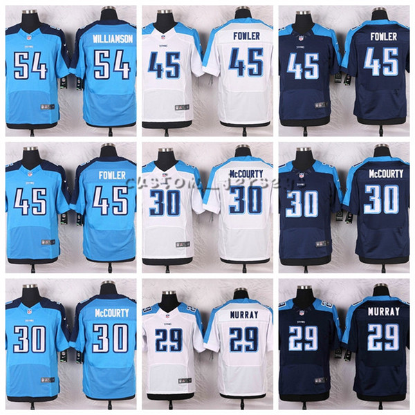 buy online 8c0a7 af587 2019 Titans #59 Wesley Woodyard 54 Avery Williamson 45 Fowler 30 Jason  McCourty 29 DeMarco Murray Elite Football Jerseys From Hugh04, $25.39 | ...