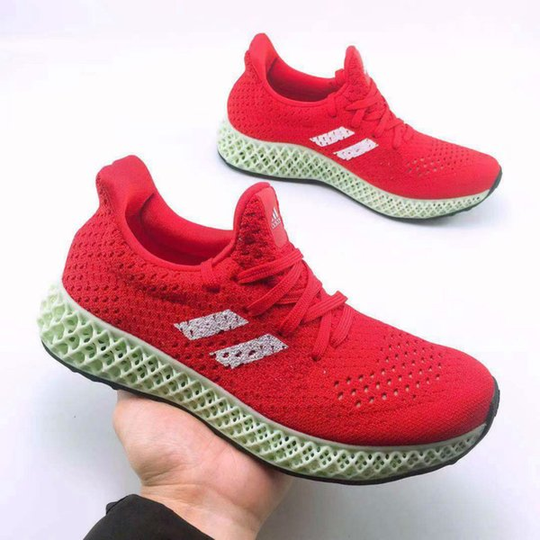 03with Box 2018 Mens and Womens Futurecraft 4D Print UB Casual shoes for Men Brand Designer Sports Shoes Size FR 38-47