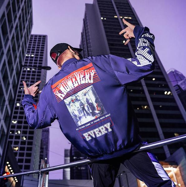 mens designer jackets original brand winter Korean style jacket men women windbreaker bomber coats free shipping