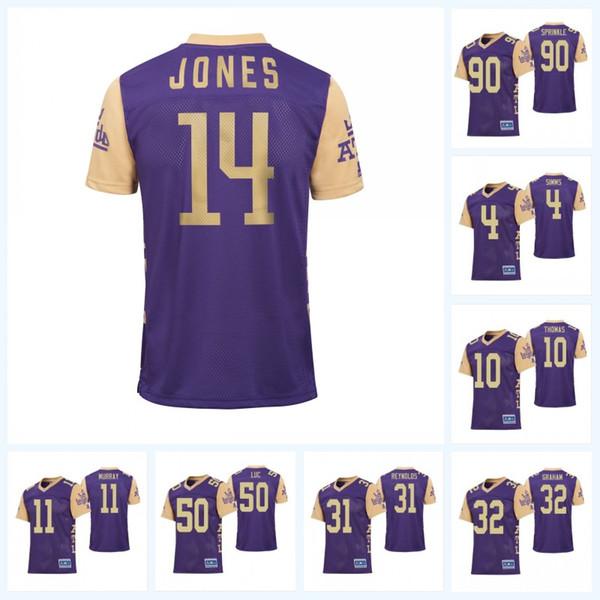 Atlanta Legends 14 Malachi Jones 11 Aaron Murray 13 Montay Crockett 17 James Quick 25 Denard Robinson Alliance of American Football Jersey