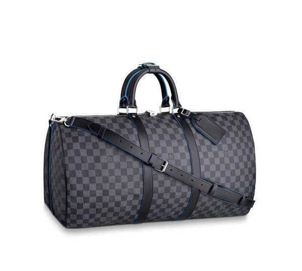 KEEPALL BANDOULIERE 55 N42427 Men Messenger Bags Shoulder Belt Bag Totes Portfolio Briefcases Duffle Luggage