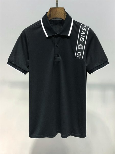 Maglietta polo anni '60 nuova moda uomo polo maniche corte e risvolto T-shirt polo design originale di qualità perfetta