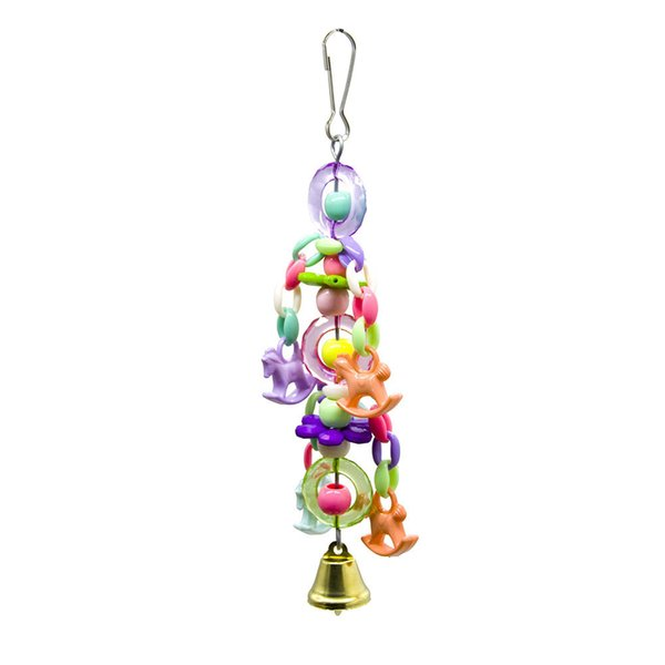 Middle And Small Size Parrot Toys Bird Toys Cage Parts Bite String And Hang String Flower Pony Bite String And Bite Resistance