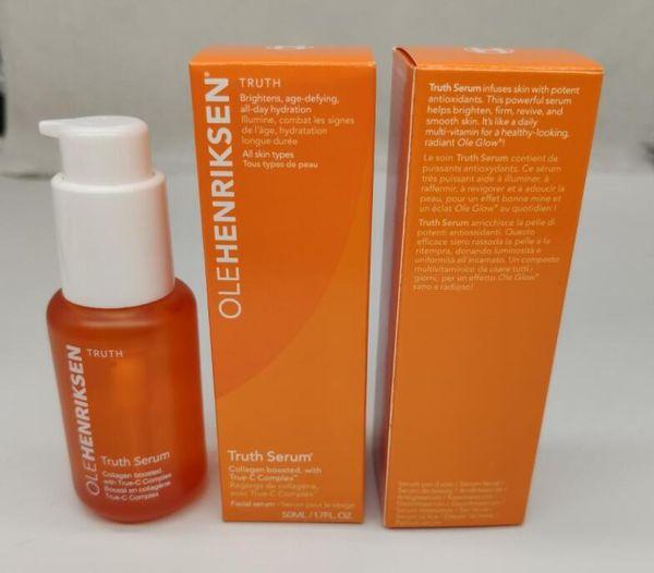 top popular EPACK New Arrival OLE Henriksen Truth Serum 50ml OLEHenriksen Facial Serum Collagen Serum High quality DHL fast shipping 2021