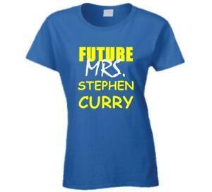 Stephen Curry Future Mrs Basketball Sports Fashion California T Shirt