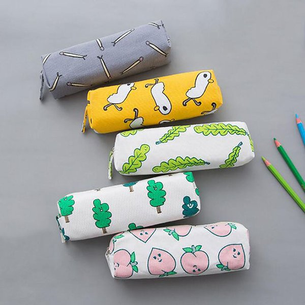 Hot Women Travel Toiletry Organizer Cosmetic Bag Girls Make Up Case Storage Pouch Purse Cartoon Printing Students Pencil Bags