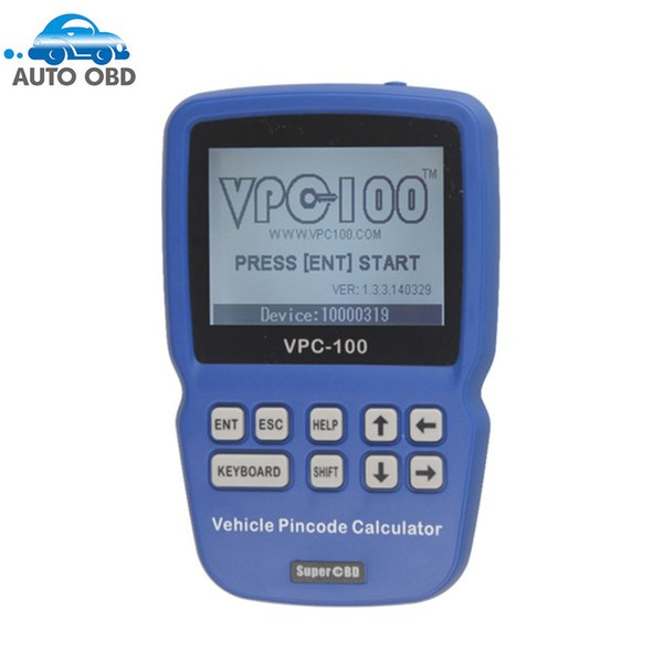 Original VPC-100 Pin Code Calculator Hand-Held With 500 Tokens VPC 100 VPC100 Car Calculator DHL FREE