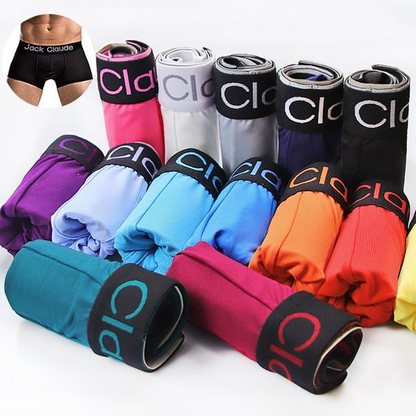 10pcs/lot Hot Male Underwear Men's Underpants For Man Panties Comfortable Breathable Cuecas Sexy Cueca Boxer Men C19041602