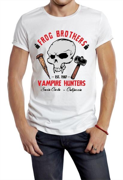 The Lost Boys Футболка Вдохновленный Frog Brothers Санта-Карла Фильм Фильм Вампиры