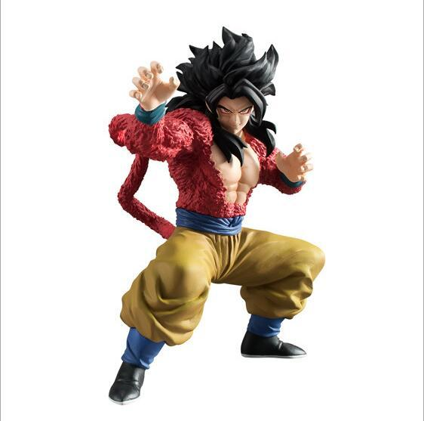 12cm Dragon Ball Z Super Saiyan Goku Action Figure PVC Collection figures toys for christmas gift brinquedos Collectible