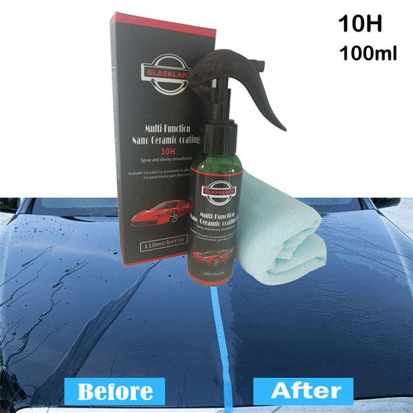 Car Multi-Purpose Brilliaire Ceramic Coat 100ML Super Hydrophobic Glass Coating100ML Auto Practical Accessories High Quality New