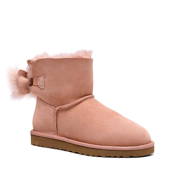 Free shipping winter Classic short Mini snow boots Brand Women popular Australia Genuine Leather Boots Fashion Women's Snow Boots 01