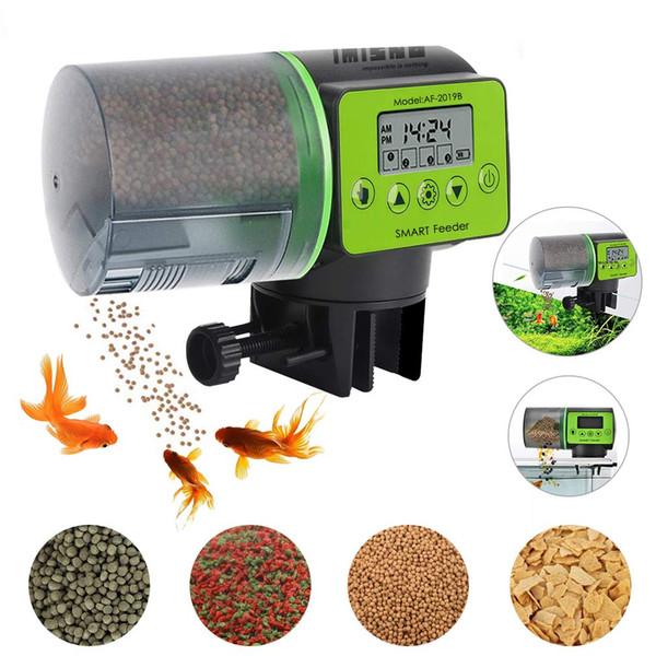 top popular Automatic Fish Feeder, Digital Food Dispenser for Aquarium or Fish Tank, Vacation Auto Betta Battery-Operated Feeder 2021