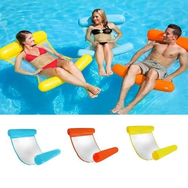 Partie flottante de lit de flottement de chaise longue de flotteur d'hamac de piscine gonflable