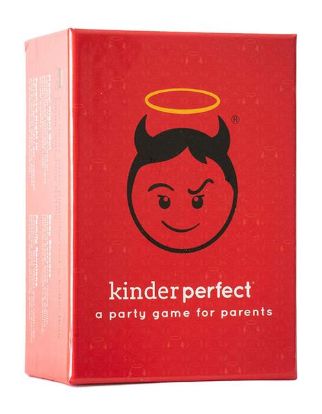 Kinder Идеального KinderPerfect веселых Родители Party Card Game Easy Play Adult Game Party Fun Сбор развлечение