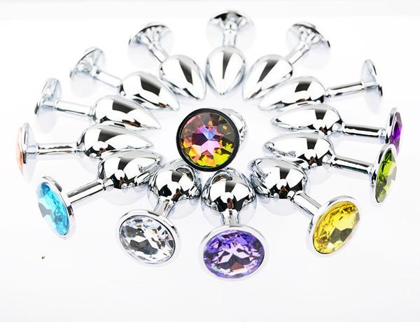 Promozione in acciaio inox attraente Butt Plug gioielli gioiello anale Plug Rosebud gioielli anali di piccole dimensioni