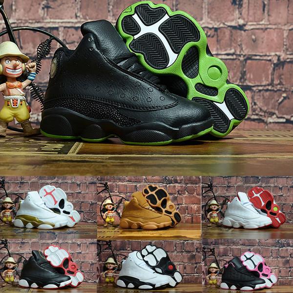 new lifestyle classic style 100% authentic Acheter Nike Air Jordan 13 Aj13 2018 Enfants De Luxe Chaussures ...