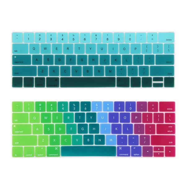 Anglais US Entrez clavier couverture pour 2016-2018 Macbook Pro 13 15 pouces avec Touch Bar Nouveau modèle A1706 A1707
