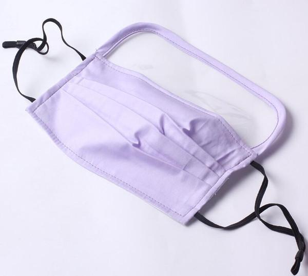masque avec filtre 1pcs (violet)