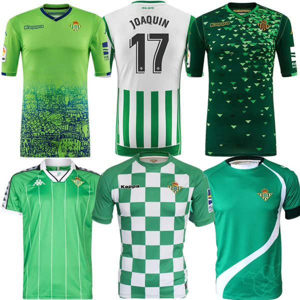 diseño atemporal 02af4 1a385 2019 2018/19 Real Betis Soccer Jerseys Lo Celso Joaquín Futbol Camisetas  Retro Football Camisa Vintage Shirt Kit Classic Maillot From Njingyi328, ...