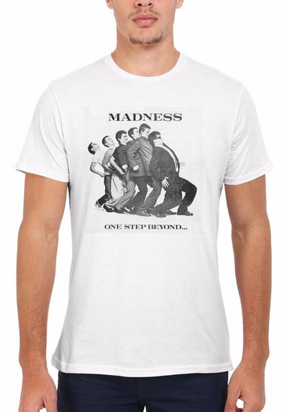 Loucura Um Passo Além 79 Ska Retro Das Mulheres Dos Homens Colete Top Unisex T Shirt 1874 Novas Camisetas Engraçadas Tops Tee New Unisex Engraçado