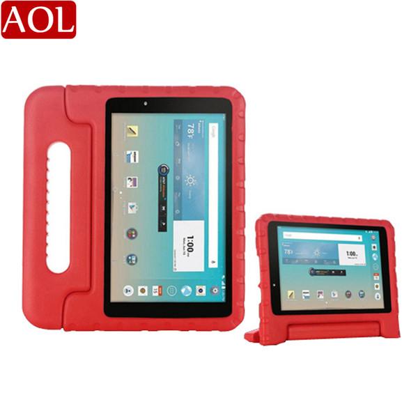 Niños portátiles a prueba de golpes resistencia a la caída soporte EVA soporte de mano cubierta de la caja para LG G Pad F V495 V496 V498 8 pulgadas tableta