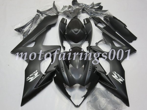 High quality new ABS motorcycle fairing kit for Suzuki gsxr100010001000k5 2005-2006 body kit custom free color Matte Silver