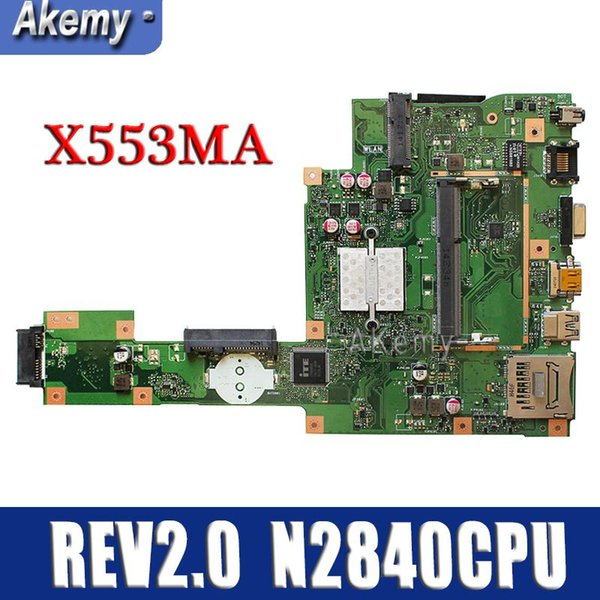 Amazoon X553MA With N2840CPU mainboard REV2.0 For ASUS F503M X503M F553MA X503MA D503M X553MA Laptop motherboard Tested Working