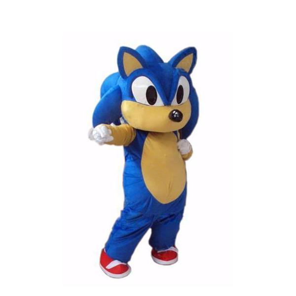 Nouveau Costume mascotte Sonic the Hedgehog Costume mascotte Sonic Livraison gratuite