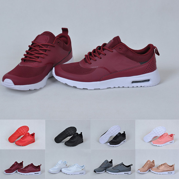 2019 Utility Classic Sneakers Men Women Running Shoes Red Sports Skateboarding High Low Cut Wheat Trainers Sneakers Black White Size36 44 From