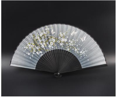 Seide handbemalt alten Wind Faltfächer chinesischen Wind Cheongsam Tanz im japanischen Stil und Windfächer