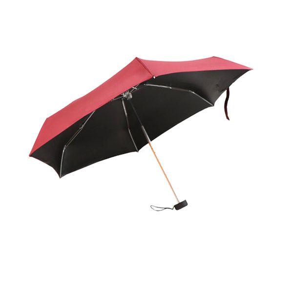 smallest mini 5 fold windproof folding cheap folding cute umbrella umbrella for kids mini capsule foldable