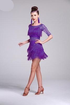 purple Half sleeve