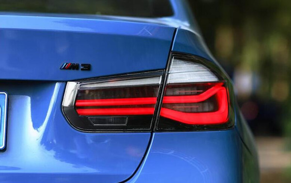 best selling For BMW F35 F30 320i 328i 2013 - 2017 Rear Fog Lamp + Brake Lamp + Reverse + Dynamic Turn Signal Car LED Tail Light Taillight