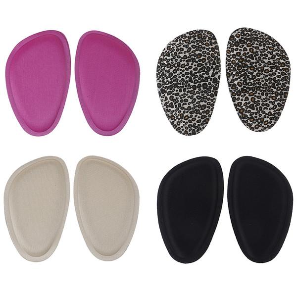 Kadınlar 4D Sünger Ön Ayak Pedleri Sandalet Yüksek Topuklu Ayakkabı kaymaz Yastık Yarım Bahçesinde Eklemek Ped Ayak Bakımı Ön tabanlık
