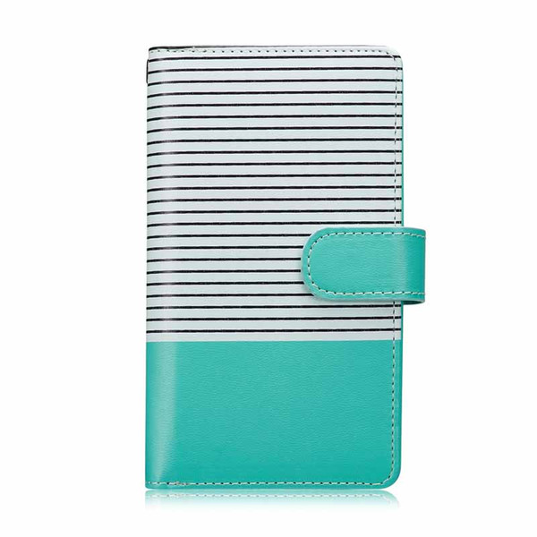 2 In 1 Magnetic Multifunction Stripe PU Leather Wallet Case for Iphone XS Max Card Slots Flip Folio Case for Iphone XS XR 6 8 7 plus