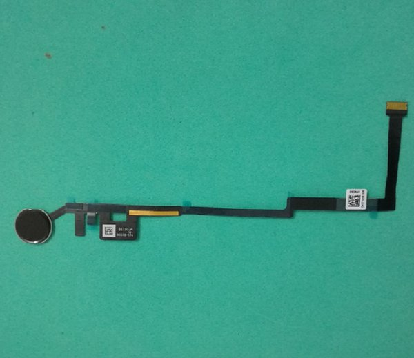 10pcs / lot per iPad 5 2017 / iPad aria 3 Assemblea domestica del tasto con Flex Cable Ribbon