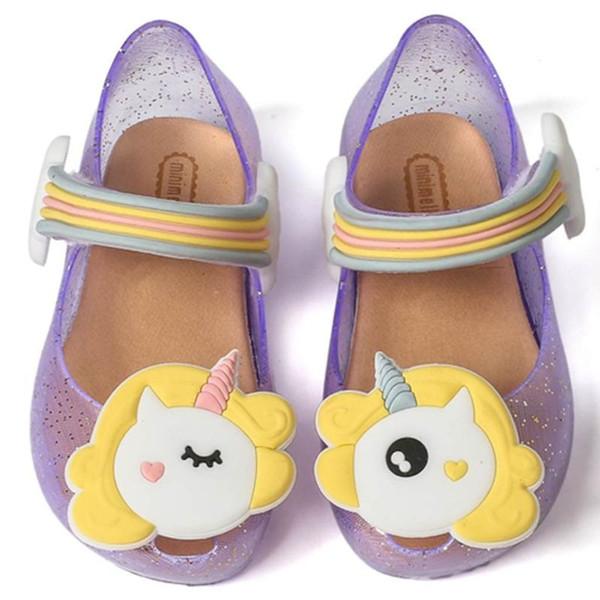 Jelly Shoes Big Girl scarpe Mini Melissa Sandali per bambini Sandali bambini traspirante antiscivolo alta qualità Estate Melissa
