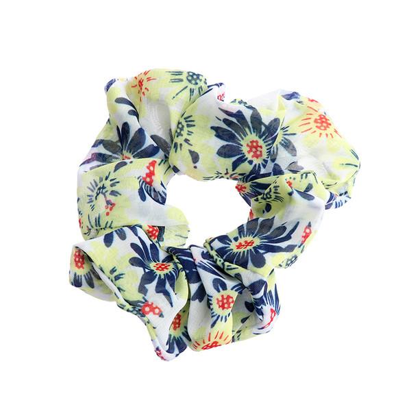 Süße Frauen Mädchen Drucken Elastische Haar Seile Haargummi Scrunchie Pferdeschwanz Inhaber Bands Seile Mode Dame Zubehör