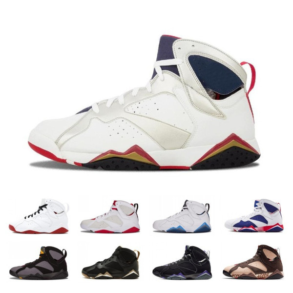 2019 Hot Fashion Patta X 7 Ray Allen Olympic 7s Men Breathable new arrival Basketball Shoes Hare mens Raptor sports Sneakers 41-47