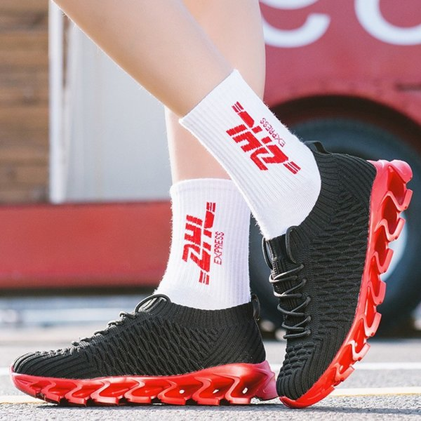 Hot Men's Running Shoes Breathable Comfortable Sneakers Outdoor Lightweight Athletic Walking Jogging Sports Footwears