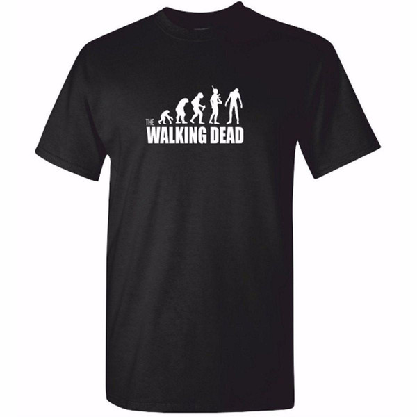 Camiseta The Walking Dead Evolution hombre tallas y colores